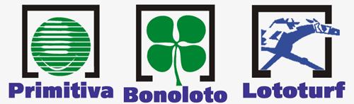 Primitiva, Bonoloto y Lototurf